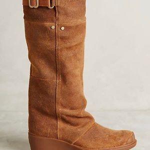 Sorel Toronto suede boots Anthropologie sz 7
